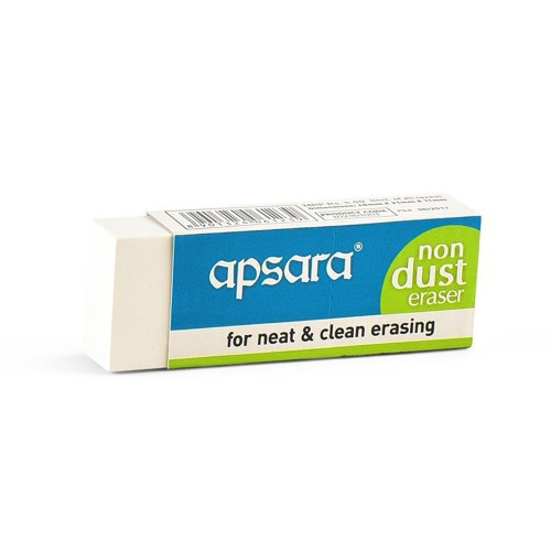 Apsara Non Dust Eraser Jumbo Pack of 20